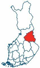 Kainuu region in Finland