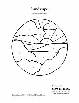 glass pattern 205