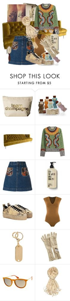 """""""Keeping warm"""" by blumbeeno ❤ liked on Polyvore featuring Dogeared, Jonathan Adler, Valentino, STELLA McCARTNEY, McQ by Alexander McQueen, Gig, Sophie Hulme, malo, Ray-Ban and Achillea"""
