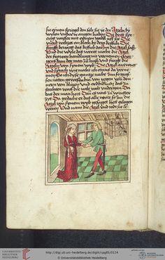 Cod. Pal. germ. 85: Antonius von Pforr: Buch der Beispiele (Schwaben, um 1480/1490), Fol 58v