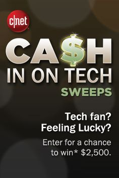 One grand prize winner will walk away with $2,500 and two lucky runners-up will win $500! http://cnet.co/15nGrm8