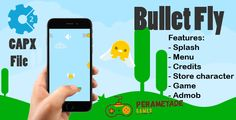 awesome Bullet Fly - HTML5 Game - Construct two CAPX (Games)