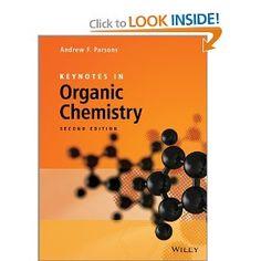 Keynotes in Organic Chemistry Graphic Design Brochure, Steam Distillation, Organic Chemistry, Keynote, Graduation, Students, Amazon, Books, Chemistry