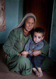 """""""Mother and child during Ramadan"""", Wardak, Afghanistan. Photo Mike Connolly. Afghanistan is a landlocked sovereign state forming part of South Asia, Central Asia, and to some extent Western Asia. It is bordered by Pakistan in the south and east, Iran in the west."""
