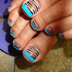 Neon Ombre Nails | Looking FANCY
