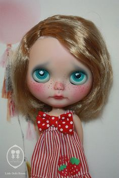 Custom Commissions Blythe Doll. by little dolls room, via Flickr