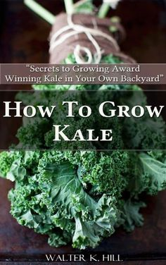 How to Grow Kale - Secrets to Growing Award Winning Kale in Your Backyard by Walter K. Hill,