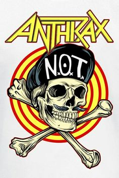 Anthrax Heavy Metal Rock, Heavy Metal Bands, Arte Zombie, Pochette Album, Band Wallpapers, Metal Albums, Rock Posters, Metal Artwork, Band Logos