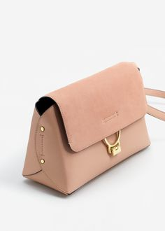 Leather bag with lid - Woman - # - # bag # leather # Woman Kapaklı deri çanta – Kadın – Leather bag with lid – Woman – # – # Lid - Leather Purses, Leather Handbags, Leather Clutch, Minimalist Bag, Leather Bags Handmade, Cute Purses, Brown Bags, Leather Design, Leather Accessories