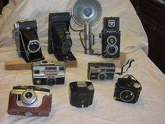 8 Kodak Cameras Argus Cameras Collection ¤ Vintage Camera Set | eBay