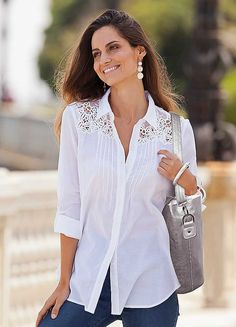 Together Lace Detail Shirt