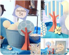 Celebrate your babies milestone first year with a Winter ONEderland party. This adorable party features penguins and polar bears and lots of creative fun!
