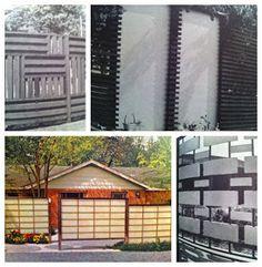 Mid Century Modern Atomic Indy: Mid Century Modern Fences | Part 1
