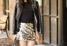 I think the jacket is a little much but love the skirt