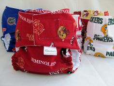 All-In-One Cloth Diaper including Insert-Sports Collection-Pocket Diaper-Bloomer