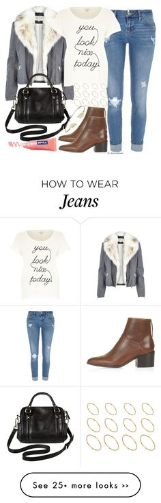 """Untitled #328"" by foreverdreamt on Polyvore featuring River Island, Topshop, ASOS and Merona"