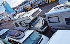 Auf da Fähre nach Sardinien 2015