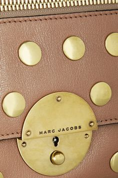 MARC JACOBS Gotham small studded leather shoulder bag $751.91 http://www.net-a-porter.com/products/443576