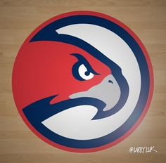 In the quest to make sure that video games are as realistic and up to date as possible, developers of sports simulation games normally get their hands on things such as new logos and uniforms far before they're unveiled, so […] New Atlanta, Atlanta Hawks, Hawk Logo, Nba Champions, Chicago Cubs Logo, Logos, Sports, Design, Falcons