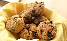 Paleo Blueberry Muffin Recipe by Bravo For Paleo.my favorite paleo muffin recipe Muffin Recipes, Paleo Recipes, Whole Food Recipes, Cooking Recipes, Free Recipes, Skinny Recipes, Delicious Recipes, Paleo Blueberry Muffins, Blue Berry Muffins