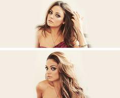mila kunis #beauty #celebrity