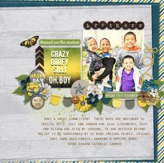 Aprilisa Designs: Good Day Sunshine Connie Prince: Adventure Time Pixlily Designs: Boys Meet World Journal Card Pack June Recipe Challenge  Fonts: DBJ Speak Up and Orator std   Thank you!