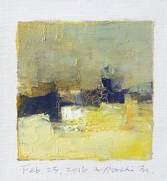 https://flic.kr/p/EnHPDm | feb232016 | Oil on canvas  9 cm x 9 cm  © 2016 Hiroshi Matsumoto www.hiroshimatsumoto.com