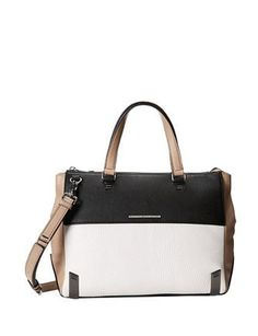 Marc by Marc Jacobs Sheltered Island Colorblock Leather Satchel