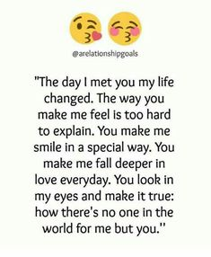 Why there will never be anyone joseph you made it clear Soulmate Love Quotes, Love Quotes For Her, I Love You Quotes, Love Yourself Quotes, Quotes For Him, Words Quotes, Qoutes About Love, Sayings, Girlfriend Quotes