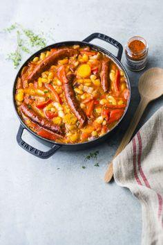 Aioli, Mediterranean Recipes, Chorizo, Paella, Mozzarella, Coco, Entrees, Curry, Food And Drink
