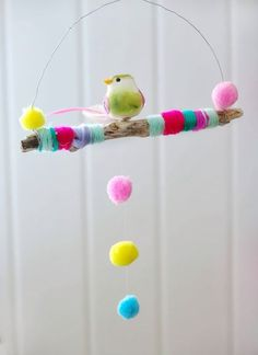 Pom Pom design for corner of Charlottes room. Diy And Crafts, Crafts For Kids, Arts And Crafts, Paper Crafts, Art Projects, Projects To Try, Diy Y Manualidades, Pom Pom Crafts, Ideias Diy