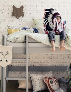 Lofted kid's bed | ferm LIVING - KIDS Lamps