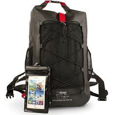 Waterproof Backpack Drybag Heavy Duty Hiking Kayaking Military Backpack #WaterproofBackpackDrybag