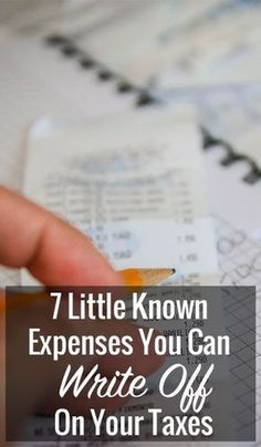 When it comes to taxes, there are some things everyone knows they can write off in order to get more money back, like like exemptions for kids, mortgage interest and business expenses for example. However, there are a great deal of other expenses that can be written off to lower your tax liability too. While most have some rules involved,…
