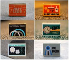 1787 matchbox labels illustrate the song lyrics. Super idea.. not sure about the song.