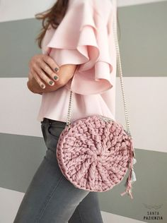 Marvelous Crochet A Shell Stitch Purse Bag Ideas. Wonderful Crochet A Shell Stitch Purse Bag Ideas. Love Crochet, Bead Crochet, Beautiful Crochet, Crochet Hooks, Crochet Handbags, Crochet Purses, Crochet Bags, Diy Sac, Crochet T Shirts