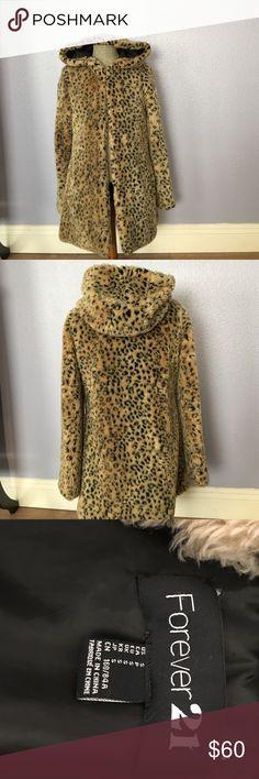 Coat. Size S Nice Leopard Coat. Size S Forever 21 Jackets & Coats