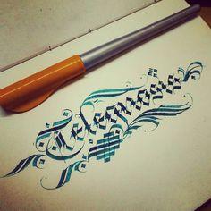 Extra Sensory Perception. #design #calligraphy #calligraphyart #calligraffiti #detailing #TYxCA #flourishing #lettering #typegang #typespot #thefinesttype #typematters #instagramaddicts #instamood #instadesign #instahub #instaperfect #instapopular #instag