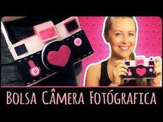 Bolsa Câmera Fotógrafica =DiY - YouTube