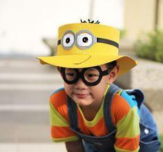 Faça este chapéu dos Minions e aumente a diversão de seus filhos.