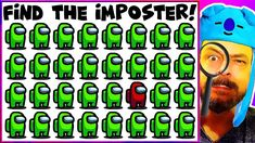 Among Us! Find the imposter - can you spot the odd one out? One is not like the others.... find him before the time runs out! The Odd Ones Out, Time Running Out, Picture Puzzles, Indoor Activities For Kids, Youtube, Fun, Pictures, Collection, Fin Fun