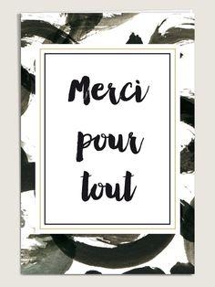Carte de remerciement mariage Eléonore - www.dioton.fr <3 <3