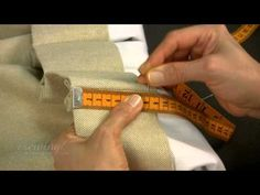 ▶ Inserting the Pin Hooks for Pinch Pleat Curtains Hung on Traverse a Rod - YouTube
