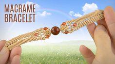Big Bead Boho Bracelet (BBBB Teaser). Macrame Bracelet