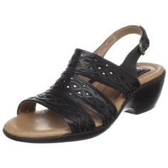 Amazon.com: Clarks Womens Trophy Prize Slingback Sandal: Shoes