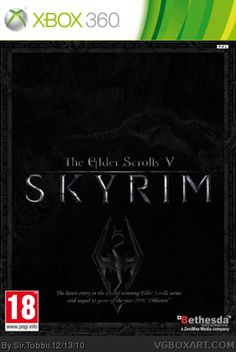 The Elder Scrolls V: Skyrim Xbox 360.  Been dying to get my hands on this for a while!