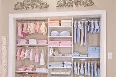Dream Closet Design for Baby