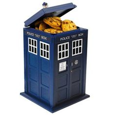 La boîte à gâteaux Docteur Who