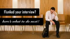 How (and when) to apologise after a disastrous job interview.