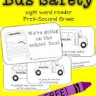 Here's my newest freebie , a little bus safety book! I print this on yellow paper and read with my kids before we take a field trip, but it's also. Kindergarten Social Studies, Kindergarten Language Arts, Kindergarten Activities, Preschool Ideas, 1st Day Of School, School Boy, Back To School, Sight Word Readers, Sight Words